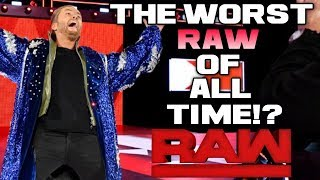 WWE Raw Nov. 26, 2018 Full Show Review & Results: DEAR VINCE MCMAHON, MONDAY NIGHT RAW IS TERRIBLE!