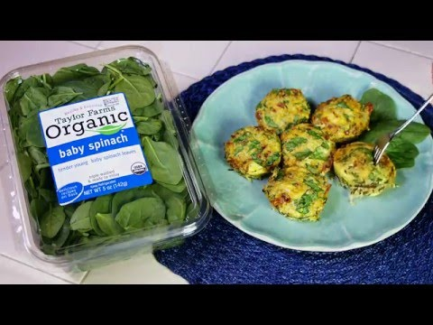 Quinoa Spinach Egg Mini Cups
