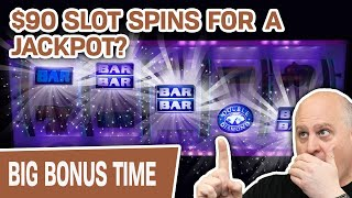 🤔 Can $90 HIGH-LIMIT Slot Spins Get Me A JACKPOT? 💎 Spoiler: YES on DOUBLE DIAMOND