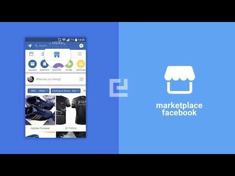 สอนวิธีใช้ market place  ใน facebook