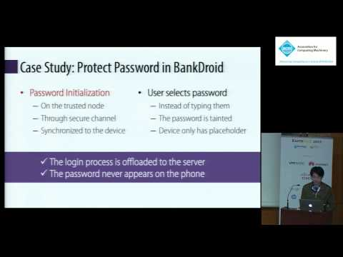 TinMan: eliminating confidential mobile data exposure with security oriented offloading