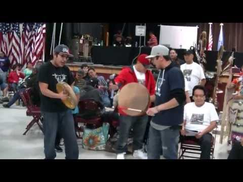 Phil and Justin St John  Hand Drum Song for their Dad  Sisseton November 2016