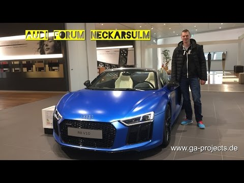 Audi Forum Neckarsulm / Audi Exclusive vlog #17