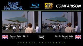 Blu-ray Versus - Flight of the Navigator (2012 vs 2019) 4K ULTRA HD Comparison