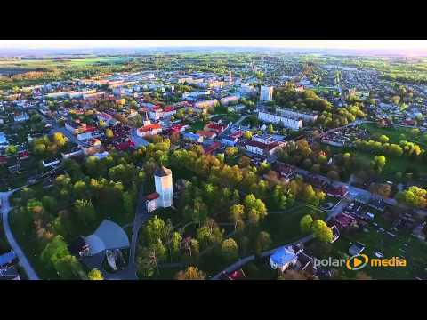 DJI Inspire1 flight in Paide, Estonia.
