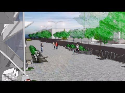 У міськраді розповіли, як виглядатимуть центральні вулиці Житомира після реконструкції