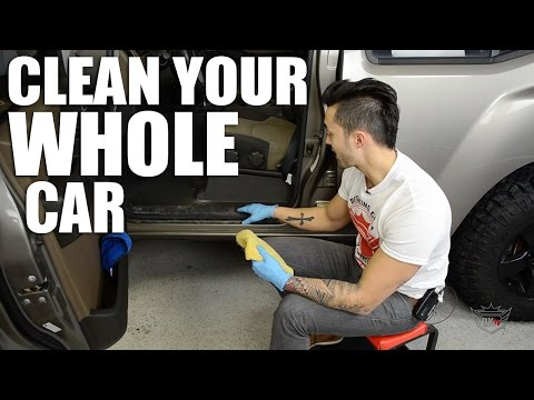 How To Clean Your Whole Car