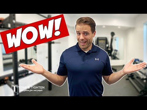 AMAZING Home Gym Reveal! Build And Tour My Home Gym Space