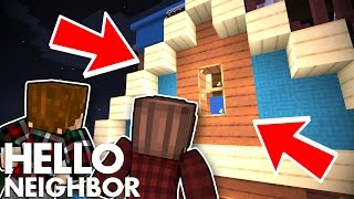 Minecraft Hello Neighbor - Whats In The Attic? (Minecraft Roleplay)