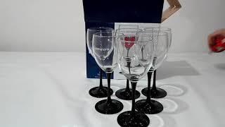 Бокалы для вина Luminarc Domino 350 мл-6шт - обзор