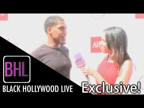 Marcus Dupree @ 12th Annual Sunshine Beyond Summer | Black Hollywood Live Interview