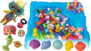 Snorkeling In Water ! LOL Surprise Baby Doll In Pool with Mermaids - Color Changing Toy Video
