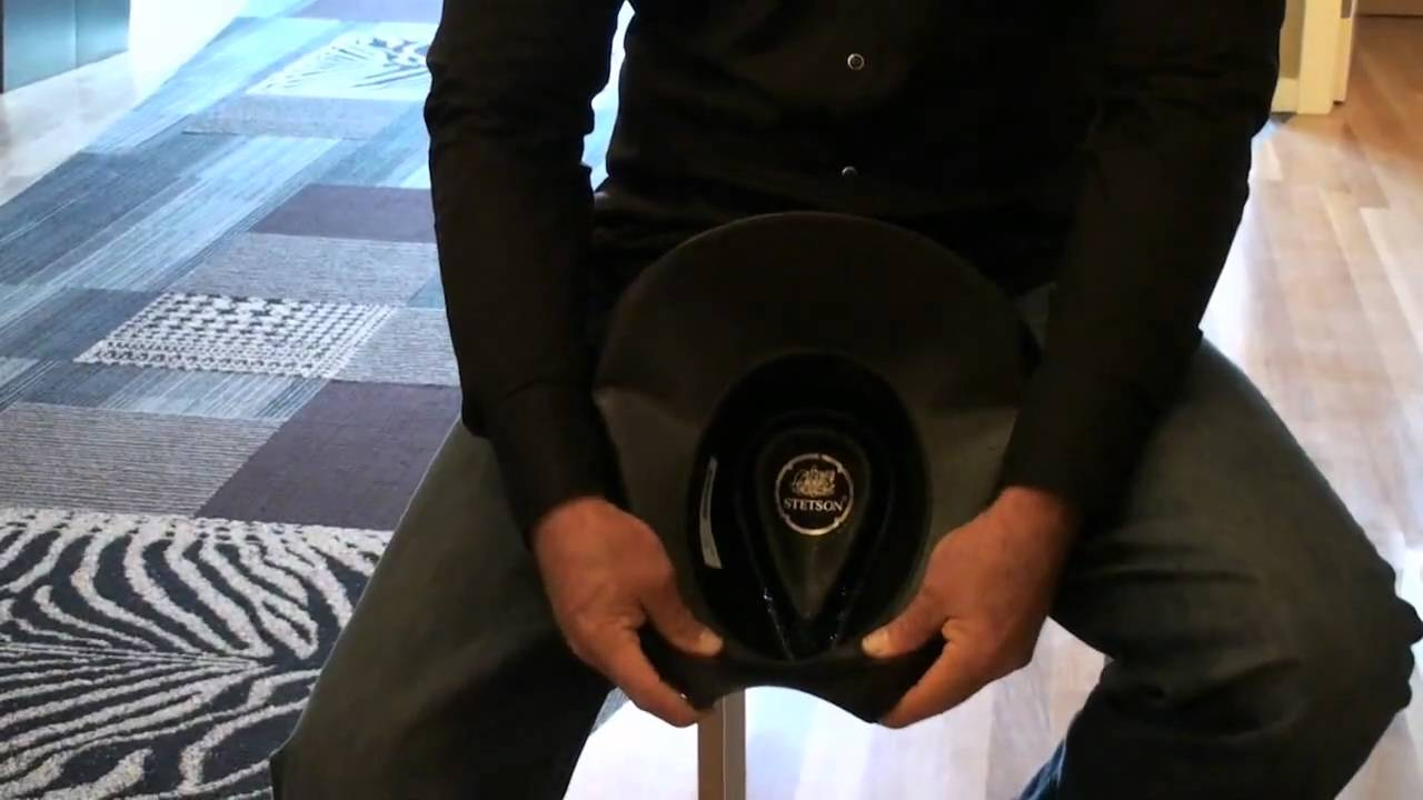 Trace Adkins Teaches You How To Fold His Cowboy Hat - YouTube 6ad280d806a
