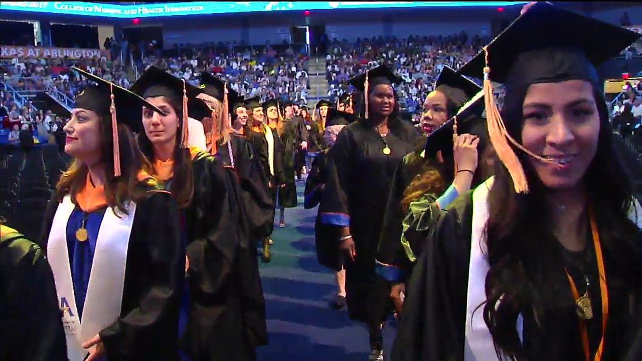 2017 May Commencement College Of Nursing And Health Innovation