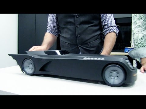 DC Collectibles - Batman: The Animated Series Batmobile Unboxing