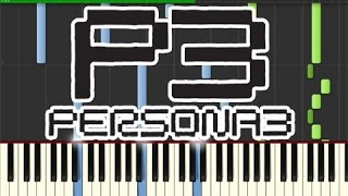 Persona 3 - Poem of Everyones Soul (Piano Tutorial, Synthesia)