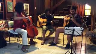 Batuque Cello - Ensaio e arranjo Nítido e osbcuro (Guinga)