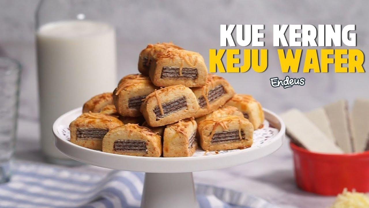 Resep Kue Kering Keju Wafer