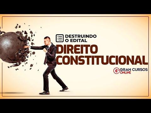 Aprenda Direito Constitucional Em Uma Semana Projeto Destruindo