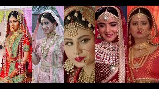 20 Gorgeous Brides Of Colors TV | Mouni Roy | Drashti Dhami | Jasmin Bhasin | Alisha Panwar