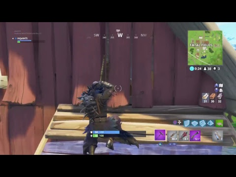 Fortnite battle royale playing with viewers (LIVESTREAM)