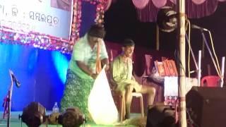 Sambalpuri comedy Bindu at lapanga golden jubli by tapan