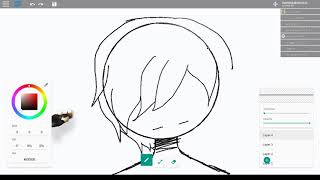 Drawing at Roblox (mouse)