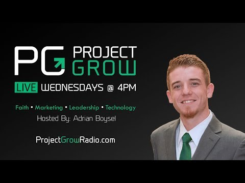 Project Grow Radio LIVE - First Show Ep #1