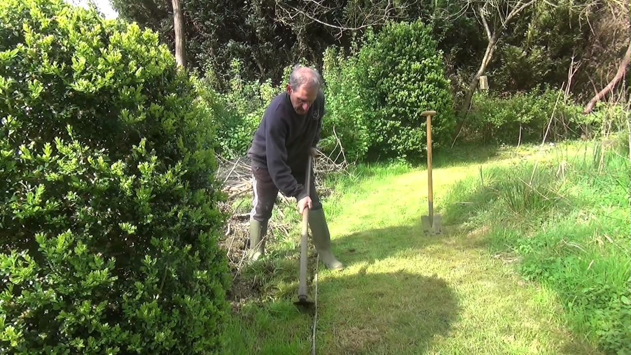 comment creer sa bordure au jardin