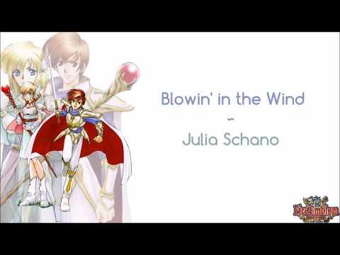 Blowin' in the Wind - Juliana Schano (From Fire Emblem: Thracia 776) [ROM + ENG Lyrics]