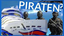 Gibt es Piraten wirklich? Piraten auf dem Kreuzfahrt Schiff. Kreuzfahrt Ratgeber