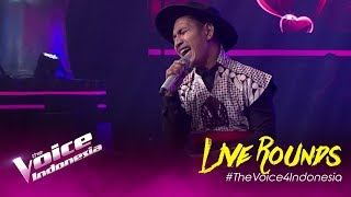 Gambar cover Kisah Romantis (Glenn Fredly) - Tommy   LIVE Rounds   The Voice Indonesia GTV 2019
