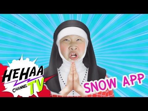 ลองเล่น SNOW App กับ Gang Baby [ HeHaa TV]