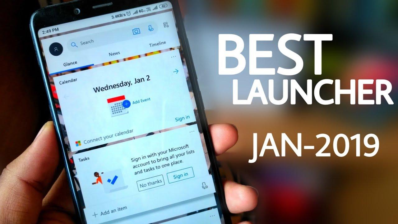Best Launcher for MIUI 10 - Microsoft Launcher