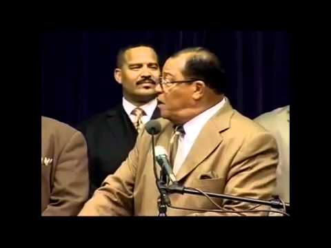 FARRAKHAN Speech on OBAMA the PUPPET for CORPORATE AMERICA  Elite New World Order Agenda