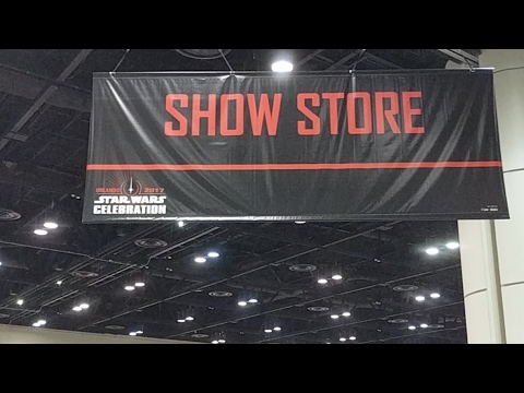 Star Wars Celebration Orlando 2017 - Celebration Store