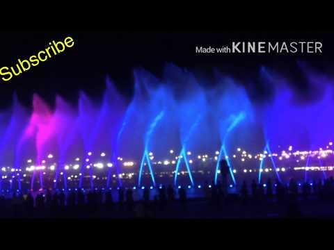 Dancing fountain bahria town Karachi