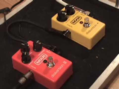 mxr distortion vs distortion iii guitar effect pedal shootout youtube. Black Bedroom Furniture Sets. Home Design Ideas