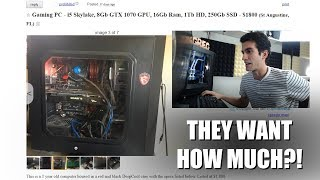 I Read Ridiculous Craigslist PC Ads