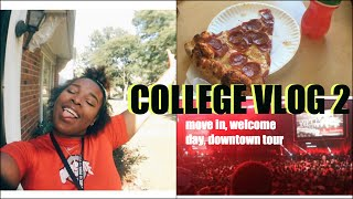 College Vlog #2 Move in day, downtown tour, freshmen week | Ohio State University