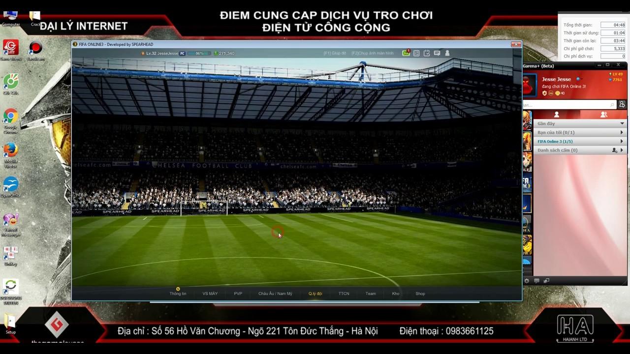 Cách ép cầu thủ +5 Fifa Online 3 Việt Nam Mới Nhất Thành Công 100%