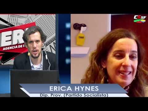 Erica Hynes: Continuamos el trabajo que encabezaba Miguel Lifschitz