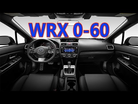 2016 WRX 0-60mph and 1/4 mile time | How fast is the Subaru WRX?