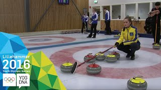Curling Mixed Team - Round Robin Group B (3) | Lillehammer 2016 Youth Olympic Games