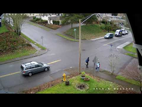 36th St & Wetmore Ave - Car nearly hits kid in street - 2018-02-16