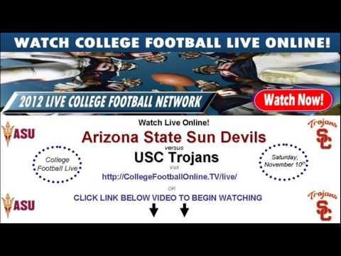 Watch USC Trojans Online vs Arizona State Streaming November 10th