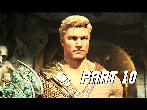INJUSTICE 2 Walkthrough Part 10 - Three Kings (Story Mode Let's Play)