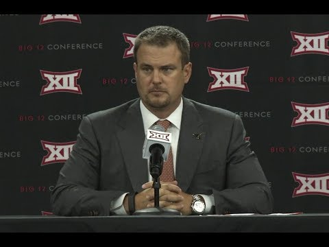 Tom Herman Big 12 Media Days Press Conference [July 18, 2017]