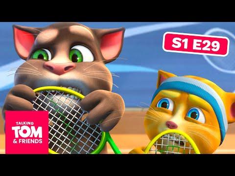 Talking Tom and Friends - Tennis Kid (Season 1 Episode 29)