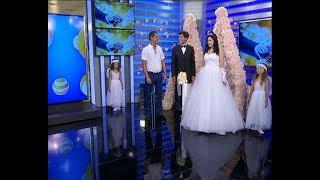 В прямом эфире телеканала «Кубань 24» сыграли свадьбу